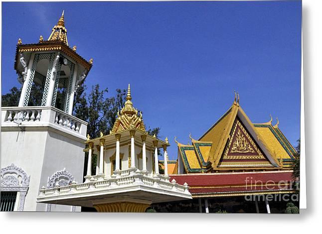 Roy Palace Cambodia 09 Greeting Card