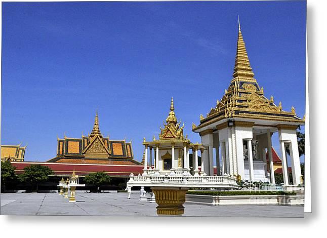 Roy Palace Cambodia 10 Greeting Card