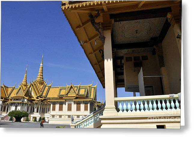 Roy Palace Cambodia 11 Greeting Card
