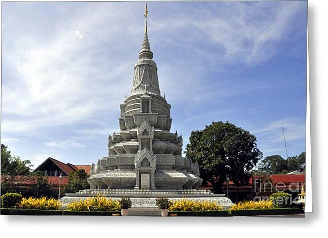 Roy Palace Cambodia 12 Greeting Card