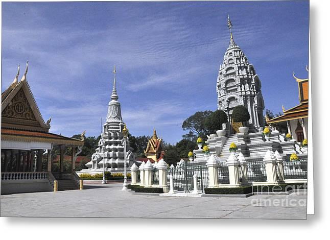 Roy Palace Cambodia 13 Greeting Card