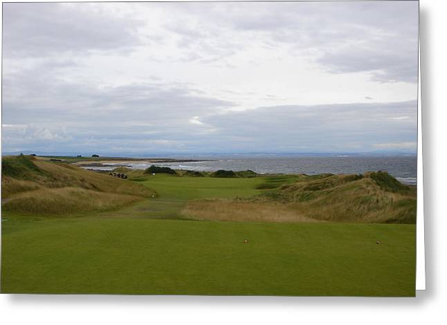 Royal Aberdeen Scotland Golf Greeting Card