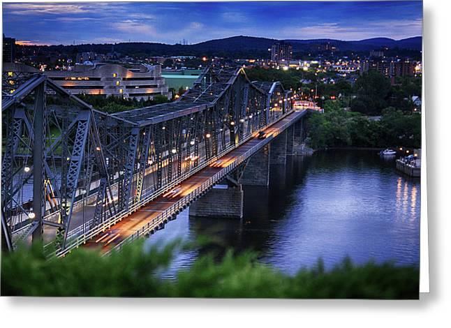 Royal Alexandra Interprovincial Bridge Greeting Card