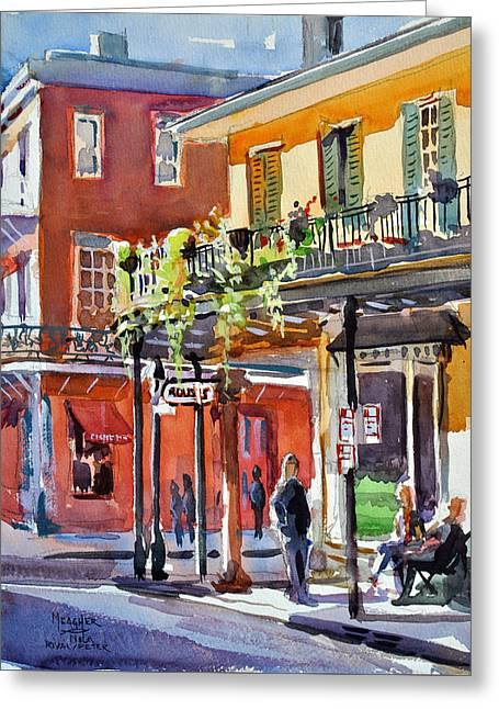 Royal And St Peter Nola Greeting Card by Spencer Meagher