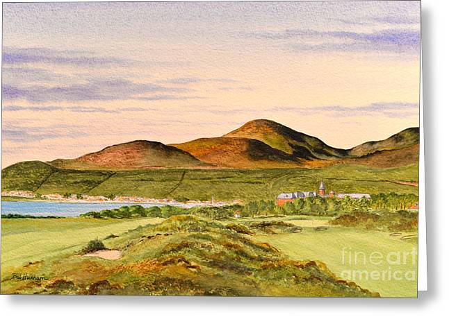Royal County Down Golf Course Greeting Card