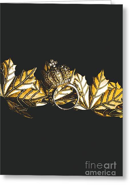 Royal Crown Jewels Greeting Card