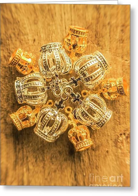 Royal Family Jewelry Greeting Card by Jorgo Photography - Wall Art Gallery