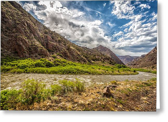 Royal Gorge 1 Greeting Card by Gestalt Imagery