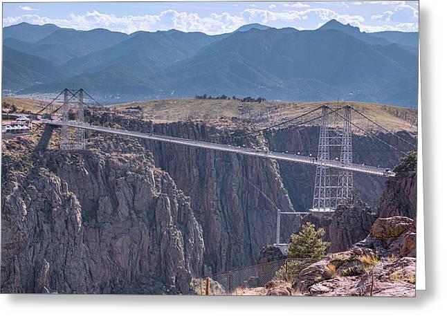 Royal Gorge Bridge Colorado Greeting Card by James BO Insogna