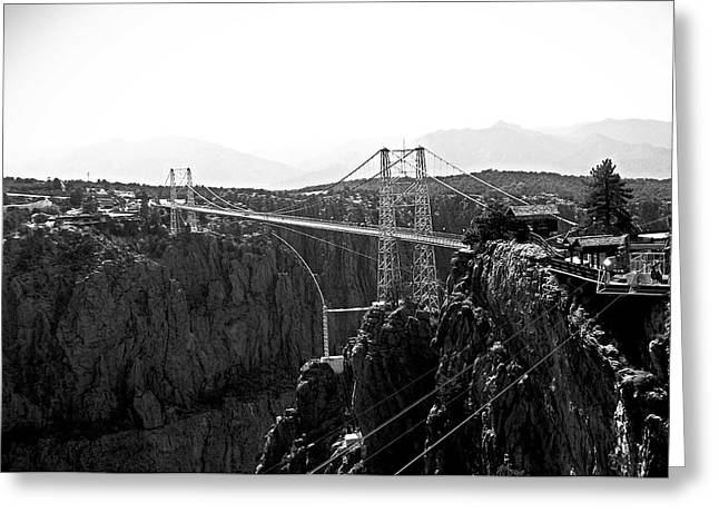 Royal Gorge Bridge Colorado Greeting Card