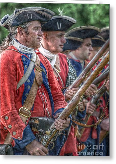 Royal Highlanders At Bushy Run August 1763 Greeting Card