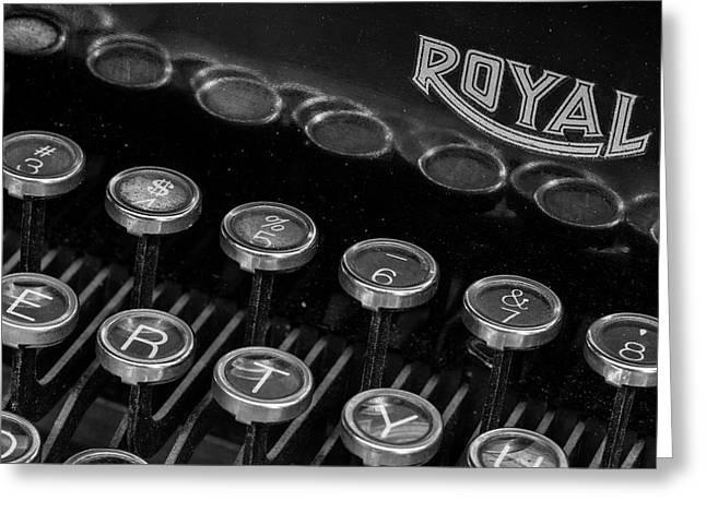Royal Keys Greeting Card