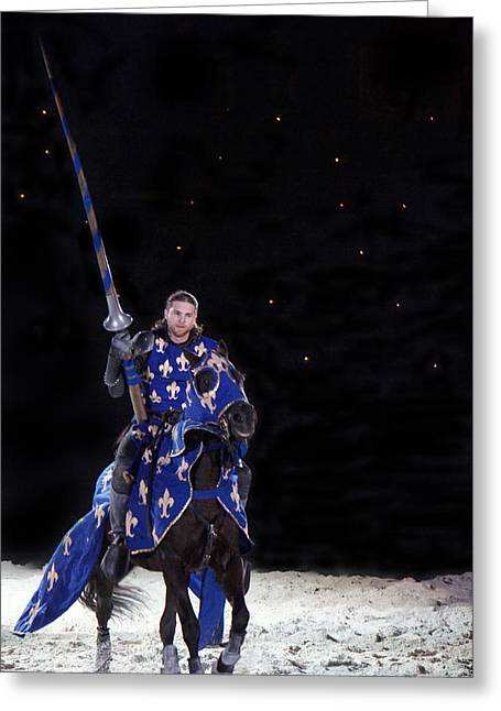 Royal Knight  Greeting Card by Art Spectrum