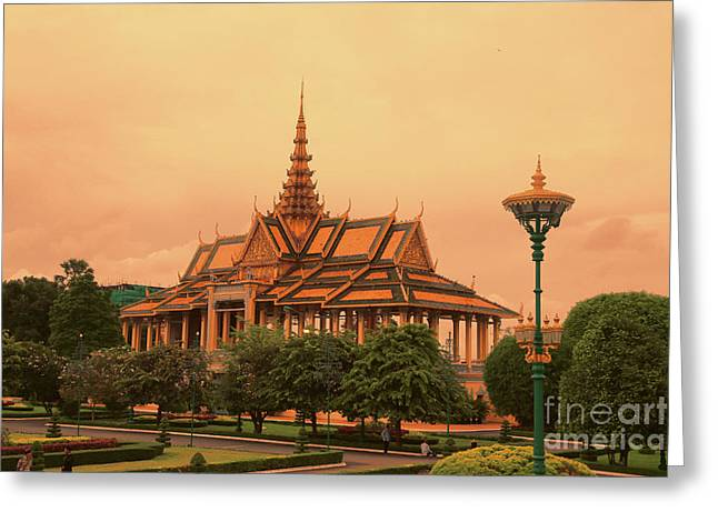 Royal Palace Architecture  Greeting Card