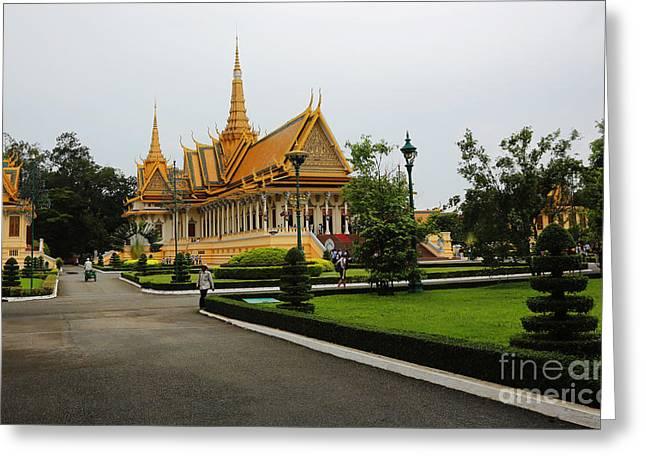 Royal Palace II Greeting Card