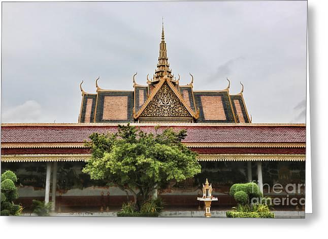 Royal Palace Iv Greeting Card