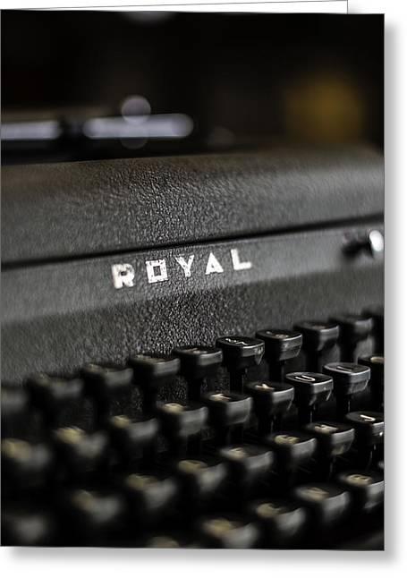 Royal Typewriter #19 Greeting Card