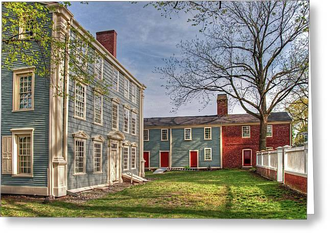 Royall House And Slave Quarters Greeting Card