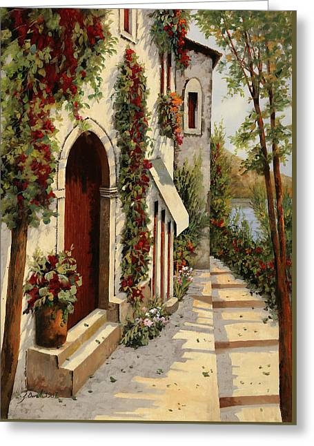 Rubino Greeting Card by Guido Borelli