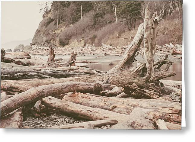 Ruby Beach No. 9 Greeting Card