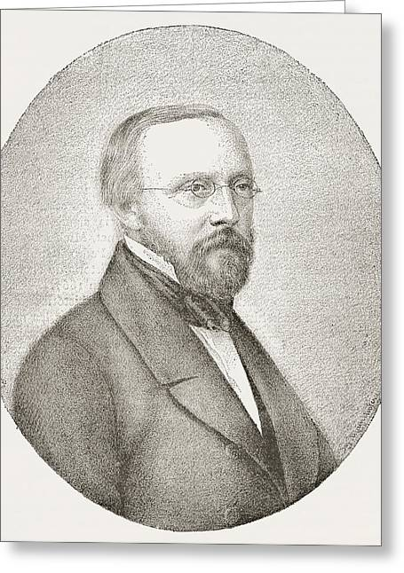 Rudolph Carl Virchow, 1821 Greeting Card