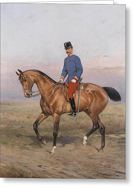 Rudolph Von Osterreich Greeting Card by Celestial Images