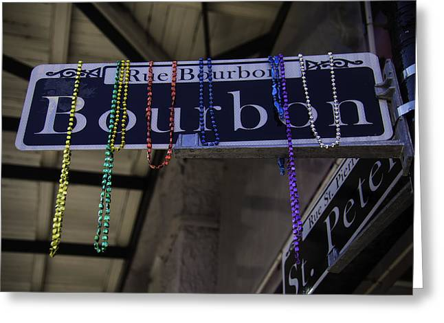 Rue Bourbon Greeting Card by Garry Gay