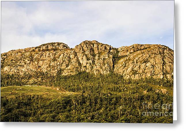 Rugged Australian Mountains Greeting Card by Jorgo Photography - Wall Art Gallery