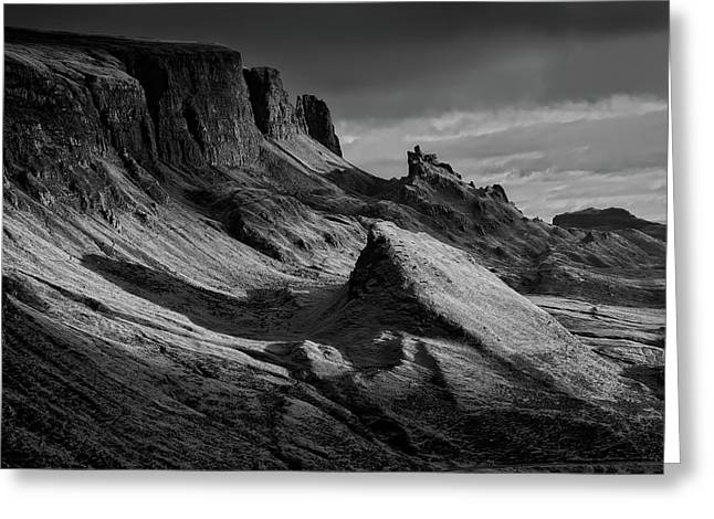 Rugged Isle Of Skye At Dusk Greeting Card by Frank Winkler