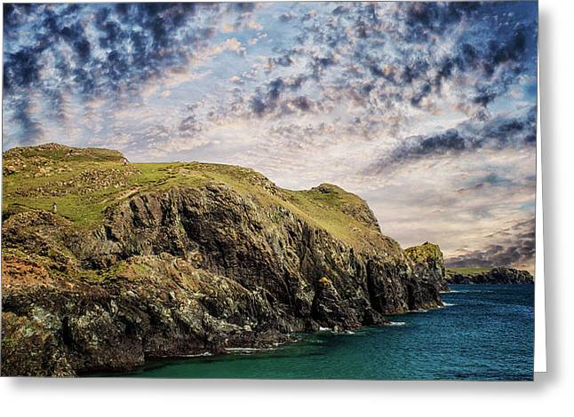 Rugged Landscape Greeting Card by Martin Newman