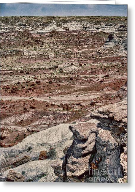 Rugged Terrain Of The Southwest Greeting Card