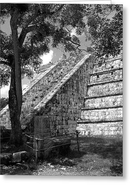 Ruins At Chichen Itza 1 Greeting Card