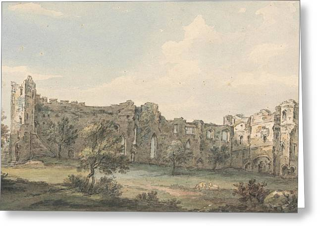 Ruins Of Newark Castle Greeting Card