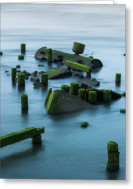 Ruins Of The Day Greeting Card