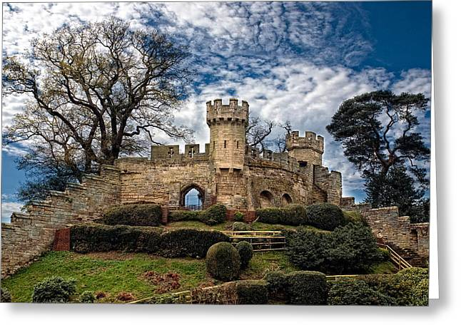 Ruins Of Warwick Greeting Card by Laura George