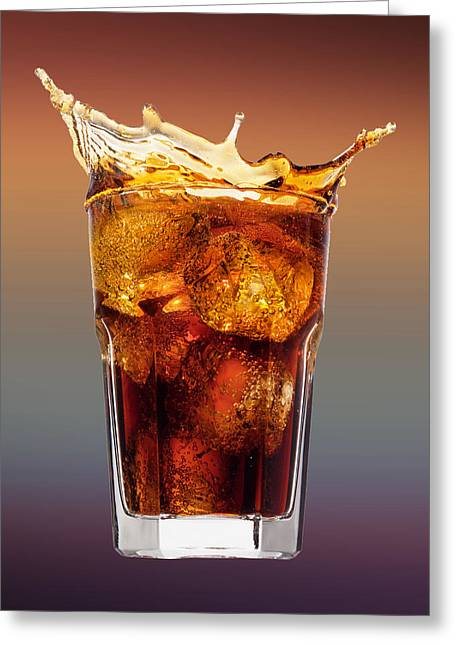Rum And Coca Cola Greeting Card by Movie Poster Prints