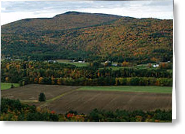 Maine Landscape Greeting Cards - Rumford Point Looking West Greeting Card by Chris Howe