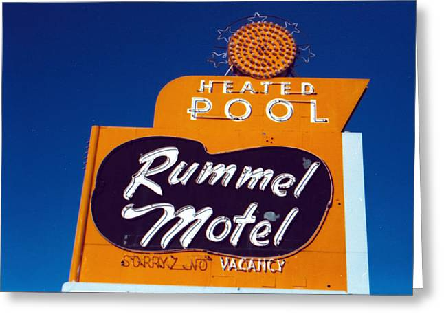 Rummel Motel Greeting Card