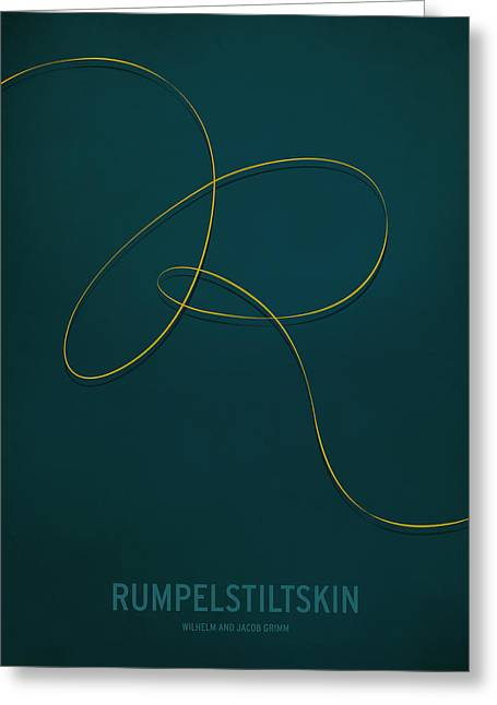 Kids Greeting Cards - Rumpelstiltskin Greeting Card by Christian Jackson