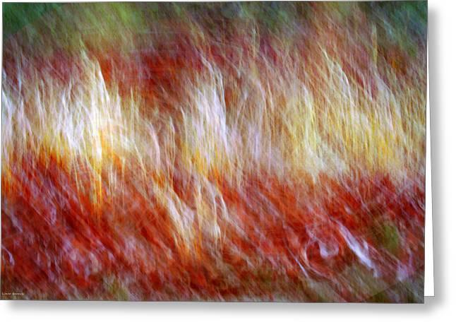 Run Like Hell Greeting Card by Linda Sannuti