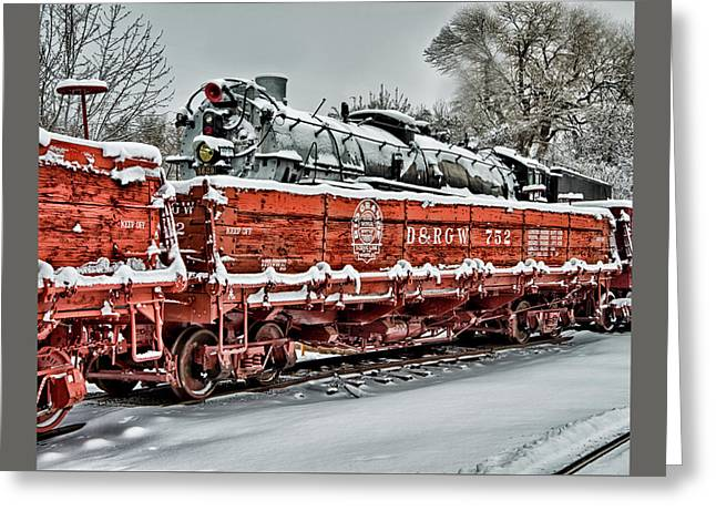 Greeting Card featuring the photograph Running Out Of Steam by Jeffrey Jensen