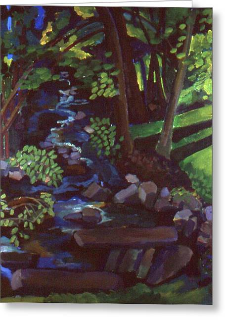 Runoff Stream Greeting Card