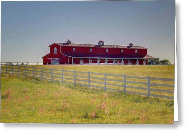 Greeting Card featuring the photograph Rural Alabama by Donna Kennedy