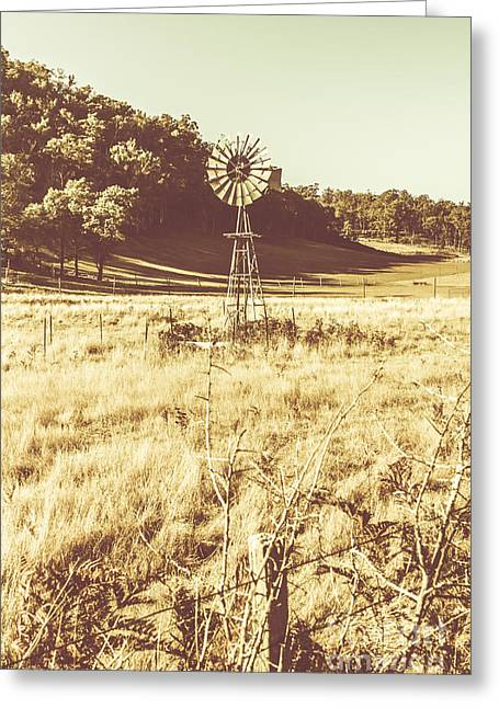 Rural Farm Ranch Greeting Card