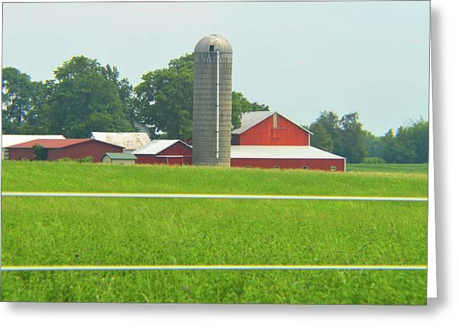 Rural Good Morning Greeting Card