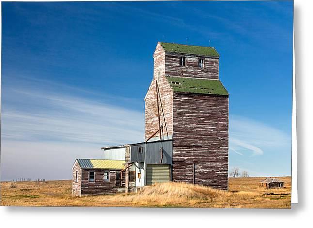 Rural Landmark Greeting Card by Todd Klassy