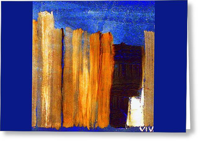 Rural Landscape 1.1 Greeting Card by VIVA Anderson