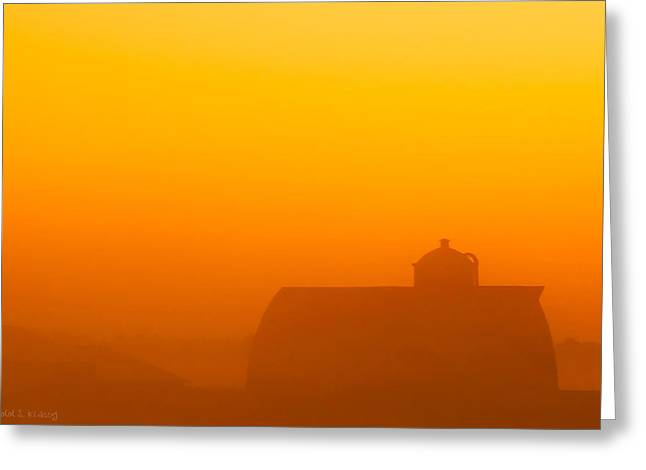 Rural Radiance Greeting Card by Todd Klassy