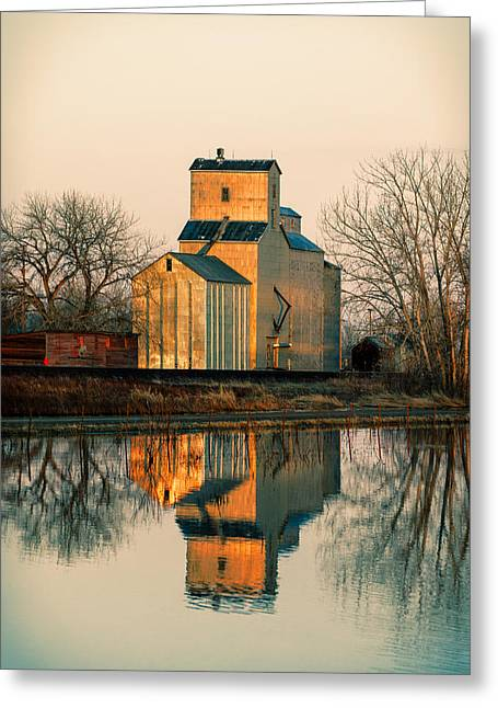 Rural Reflections Greeting Card