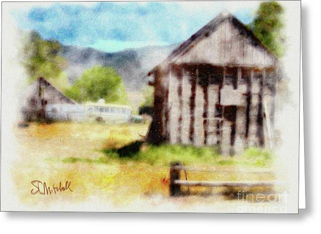 Rural Remnants Greeting Card by Stephen Mitchell